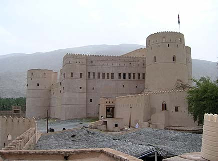 Rustaq Fort is a labyrinth of stairs and rooms, and it's easy to lose one's way
